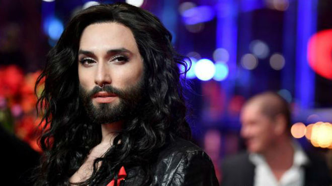 Conchita Wurst en la berlinale