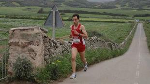 Rafel Quintana, en la carrera.