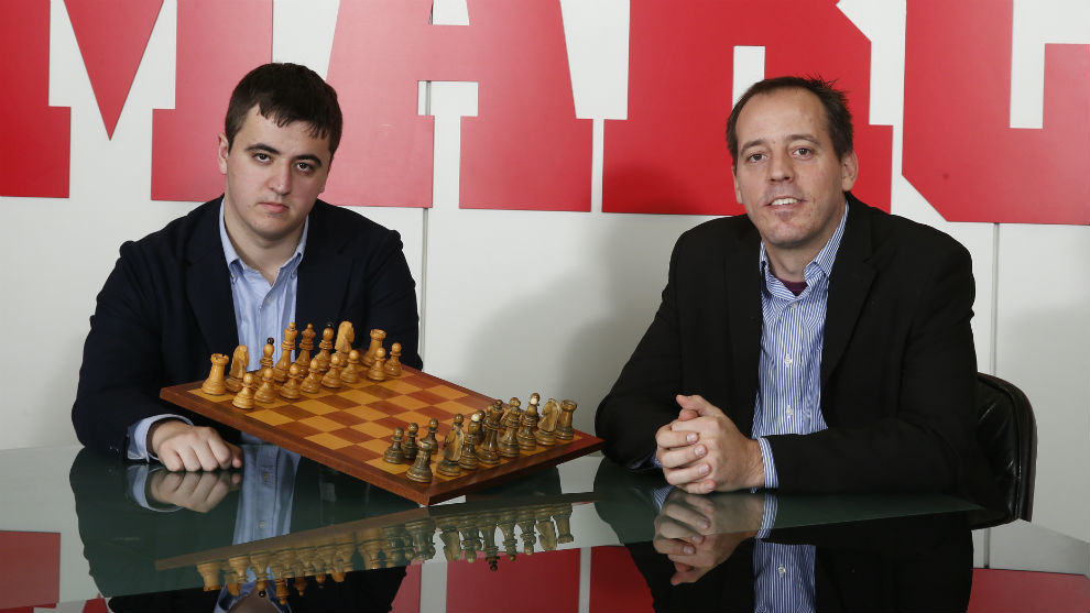 Jaime Santos y Francisco Vallejo.