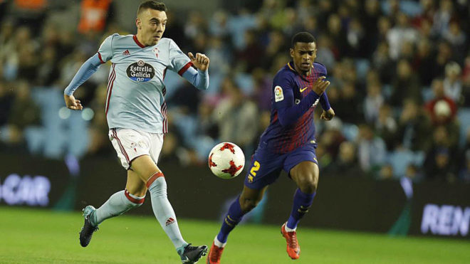 Iago Aspas and Semedo.