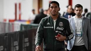 José de Jesús Corona con la selección nacional.