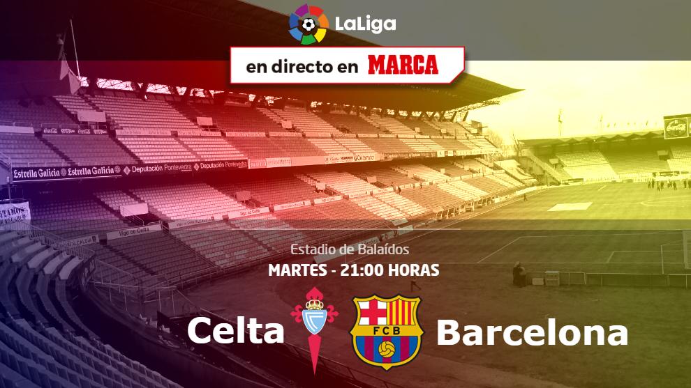 Celta vs Barcelona - 21:00 horas