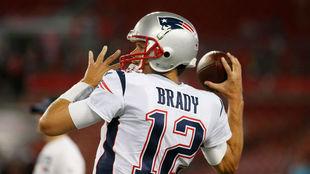 Tom Brady, durante un encuentro en la NFL