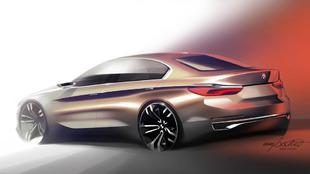 En imagen el BMW Concept Compact Sedan