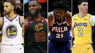 Los 15 jugadores quen más camisetas venden en la NBA