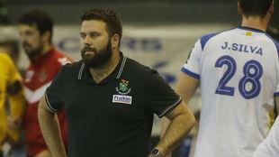 Antonio Rama, entrenador del Fraikin BM Granollers