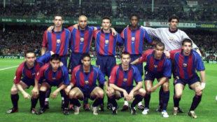El último once del Barça sin canteranos en Liga hasta hoy.