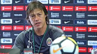 Matías Almeyda, en conferencia de prensa