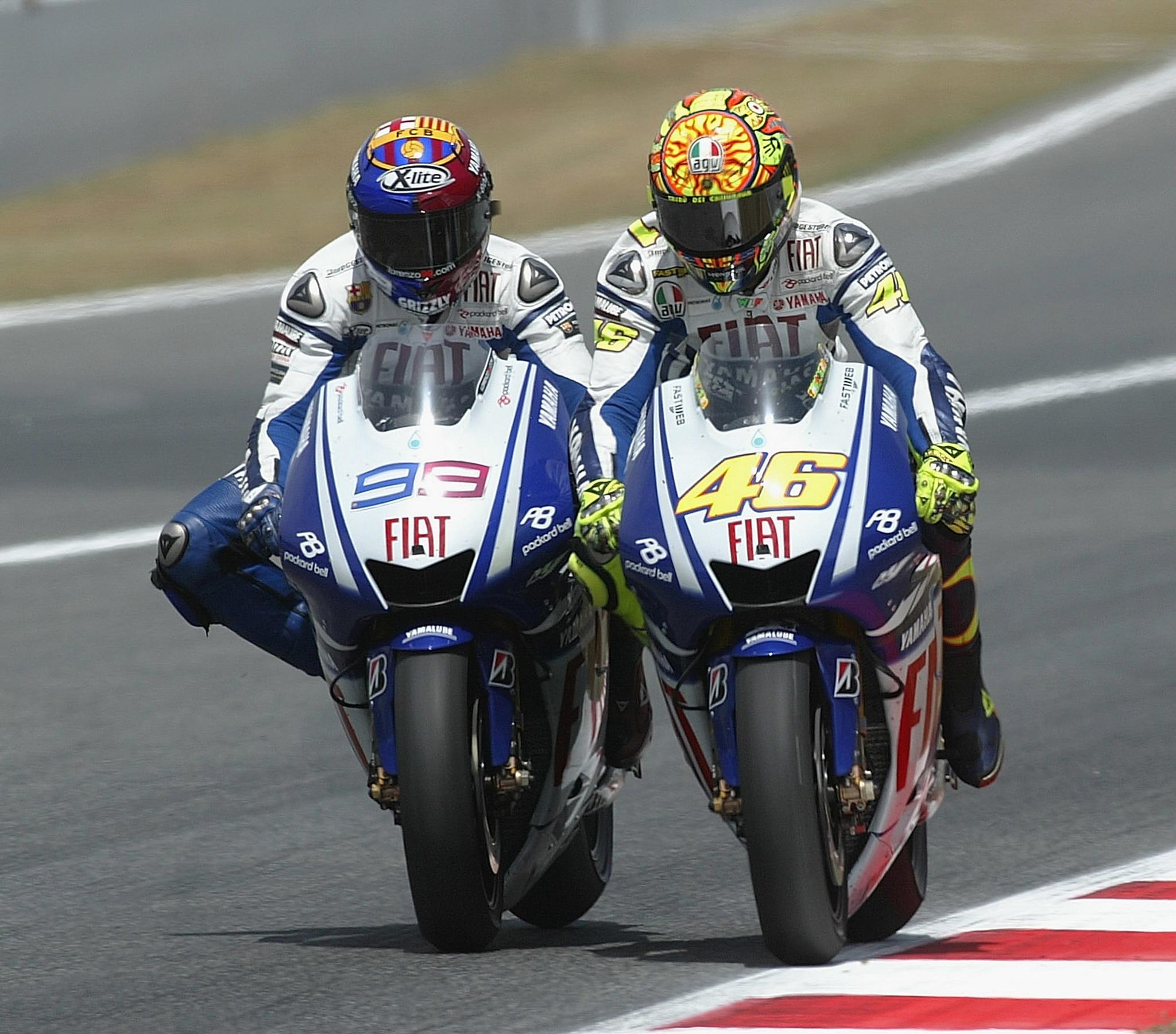 Calendario Max 2005.Motogp News Valentino Rossi Has A History Of Rivalries