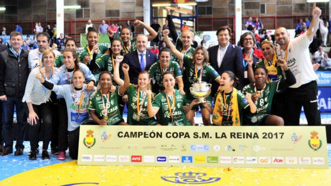 El Rocasa Gran Canaria, ganador de la edición 2017 de la Copa de la...