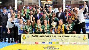 El Rocasa Gran Canaria,. ganador de la edición 2017 de la Copa de la...