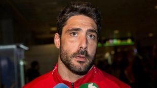 Jaime Nava hace declaraciones tras el Bélgica-España.