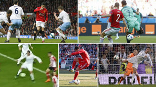 Goles de tacón de Cristiano Ronaldo