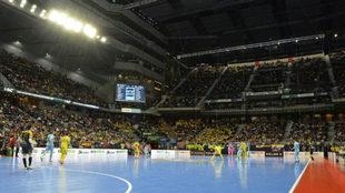 Panorámica del WiZink Center durante la final de la Copa de España.