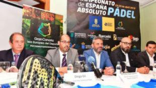 Diego Gil y José Luis Amoroto, en la presentación del Campeonato de...