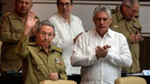 Raúl Castro y Daniel Díaz-Canel