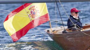 El Rey Juan Carlos, en el Bribón.