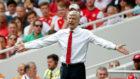 Wenger técnico del Arsenal