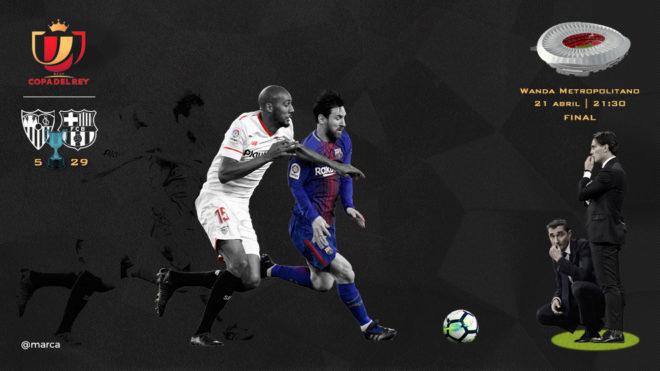 Final de la Copa del Rey 2018: Sevilla - Barcelona