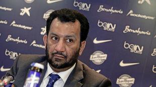 Al Thani presidente del Málaga CF