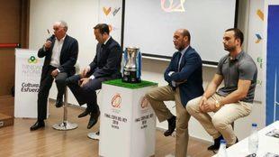 Imagen de la presentación de la Final de la Copa del Rey 2019 en la...