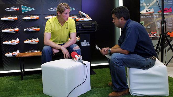 Fernando Torres, entrevistado por Pablo Brotóns.