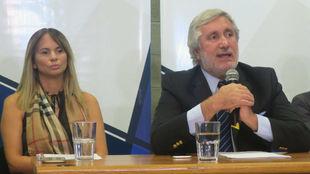El procurador general de la provincia de Buenos Aires, Julio Conte...