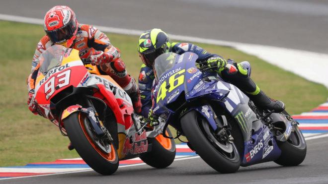 Gp Américas 2018 MotoGP: Expectación con el duelo Márquez vs Rossi