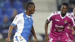 Koné, ante el Valladolid en Copa