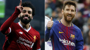 Salah extends lead over Messi for Golden Shoe