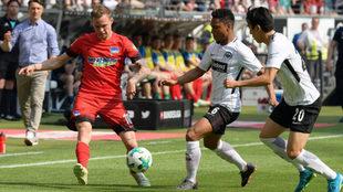 El Eintracht cae en casa y se mantiene fuera de los puestos europeos.
