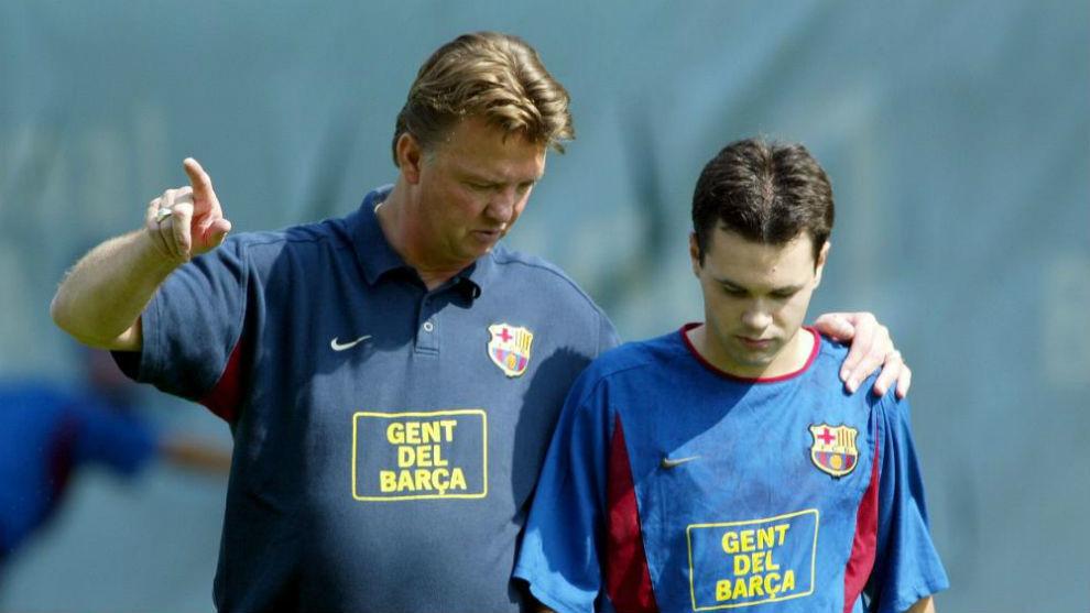Barcelona: Open Letter From Van Gaal: Iniesta Is