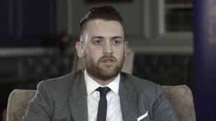 Charlie Guenigault durante una entrevista para la web oficial del...