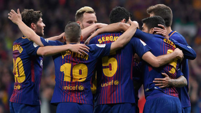 Iniesta reigns in Copa final