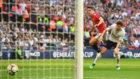 Ander Herrera marca el gol del triunfo del United.