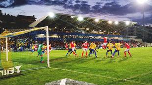 Partido entre el Estoril y el Benfica