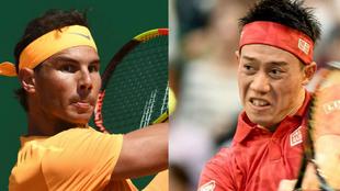 Nadal vs Nikishori - Final Masters 1000 Montecarlo