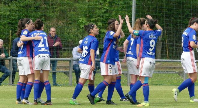 fef8b1d6f354b Las asturianas lideraron el Grupo 1 de Segunda división por delante de  Deportivo de la Coruña y CD Monte. La sección femenina se creó en 1980