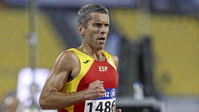 Alberto Suárez, en una imagen del Mundial de Doha