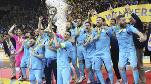Movistar Inter levanta su quinta UEFA FutSal