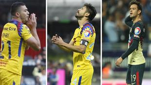 Henry Martín, Oribe Peralta y Alejandro Díaz no marcan desde la...