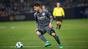 David Villa, jugador del New York City