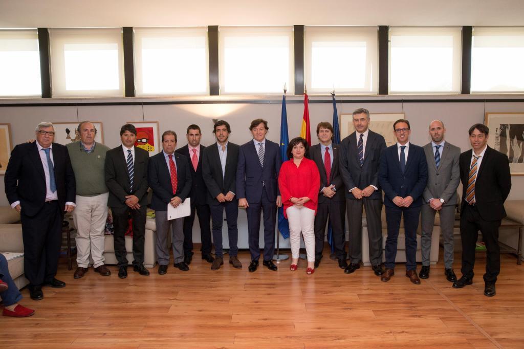 José Ramón Lete, presidente del CSD, presidió la presentación del...