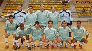 La plantilla de Movistar Inter en la 06/07