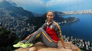 Gemma Mengual, en los Juegos de Río.