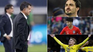 Juan Carlos Osorio debe tener cuidado de varios jugadores.