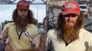 Desde hace dos años Robert Pope tratar de imitar a Forrest Gump...