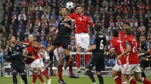 Imagen del pasado Bayern-Real Madrid en el Allianz Arena