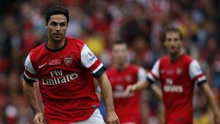 Arteta, en su etapa con el Arsenal.