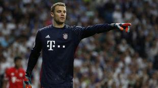 Neuer, con el Bayern.